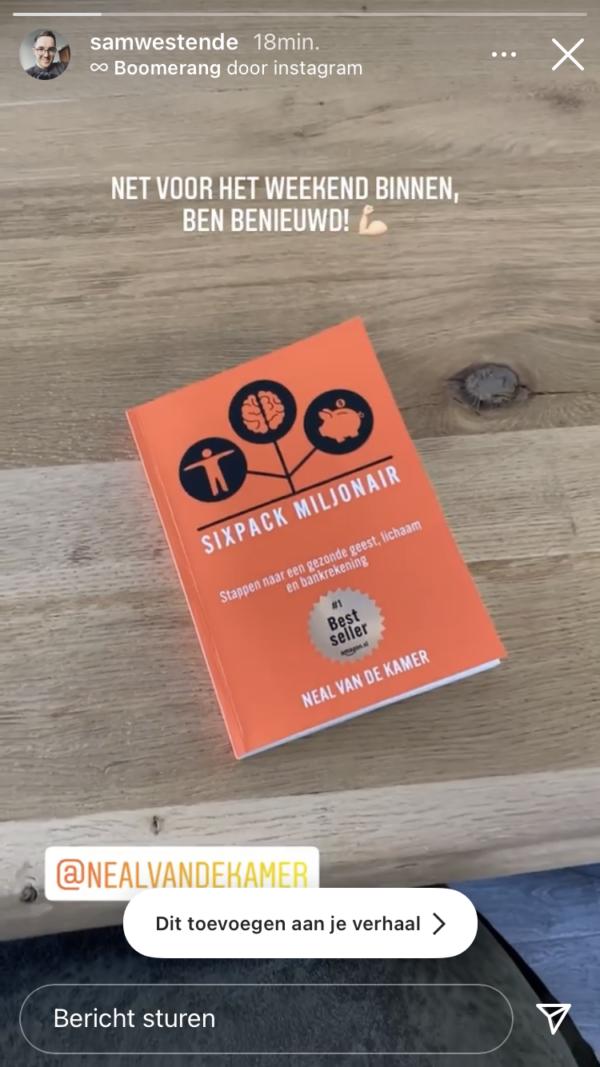 Sixpack miljonair boek